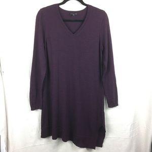 Eileen Fisher Asymmetrical hem sweater tunic S